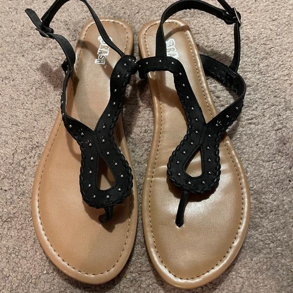 Brash - Black Sandals - sz 11